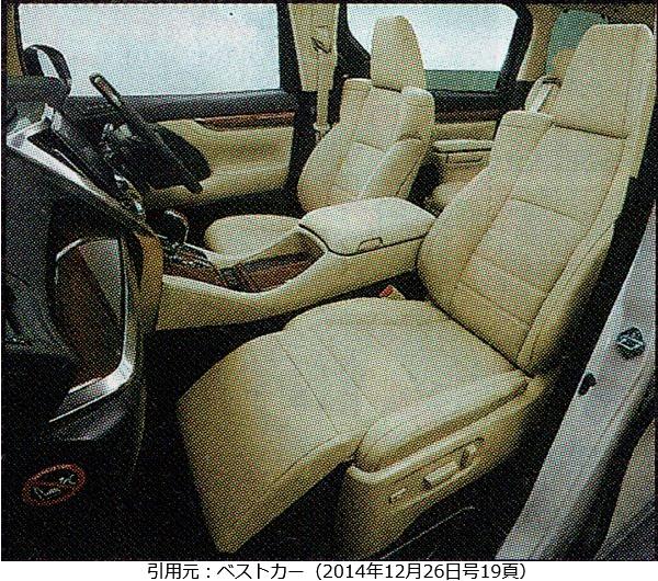 アルファード-ベストカー-フロントシート