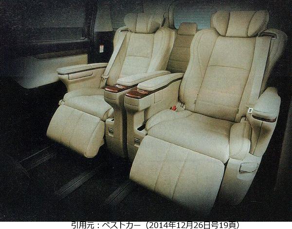 アルファード-ベストカー-VIPシート